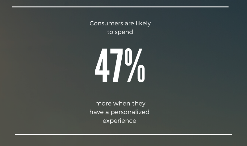 statistic for personalized experience